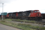 Canadian National Railways (CN) EMD SD75I's No. 5679 and No. 5609