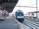 NJ Transit Alp-46 4617 Enters Hamilton Station