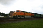BNSF 5046 heads for Willard