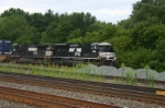 NS 2699 has another stack train in tow