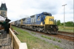 CSX 7639 distracts me from brunch