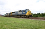 CSX 8780 is eastbound with COFC