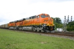 BNSF 6037 on eastbound FLCX coal train