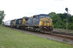CSX 7702 with eastbound mixed freight