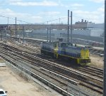 LIRR MP15ACs 157 & 153 head east