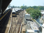 M-7s laid over in Jamaica station