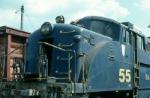 Bangor and Aroostook Railroad EMD BL2 No. 55
