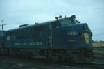 Bangor and Aroostook Railroad EMD F3A No. 45