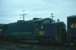 Bangor and Aroostook Railroad EMD BL2 No. 52