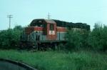 Bangor and Aroostook Railroad EMD GP38 No. 88
