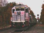 NJT 4149 Pushing The Last Newark Bound Train