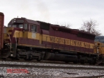 Wisconsin Central SD45R #6555