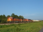 BNSF 8841 stretch'em out