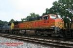 BNSF C44-9W #4417