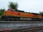 BNSF CW40-8 #851