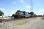 CSX 4709 is west with stacks