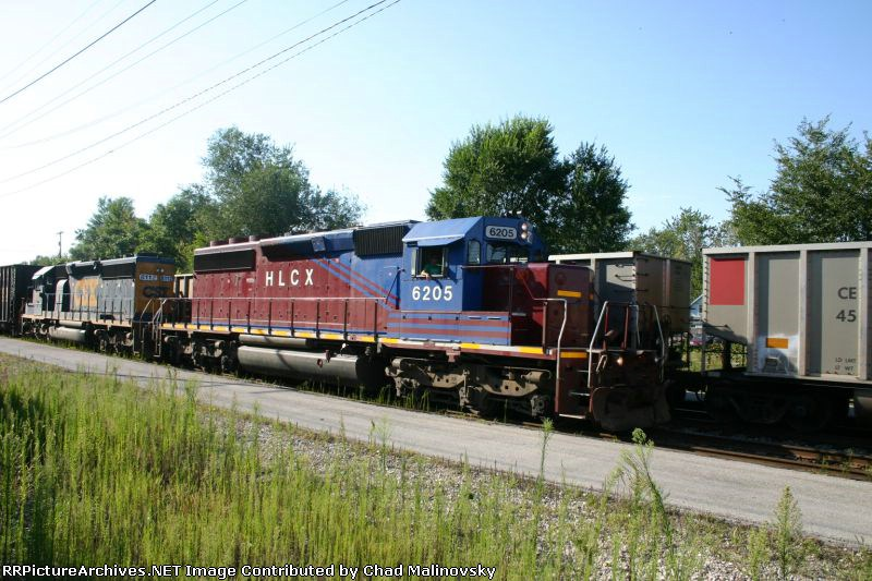 HLCX 6205 east