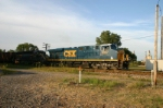 CSX 5367 heads for the Northwest Transfer