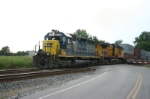 CSX 8337 heads east with containers