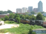 Heading to the NS yards in Raleigh NC