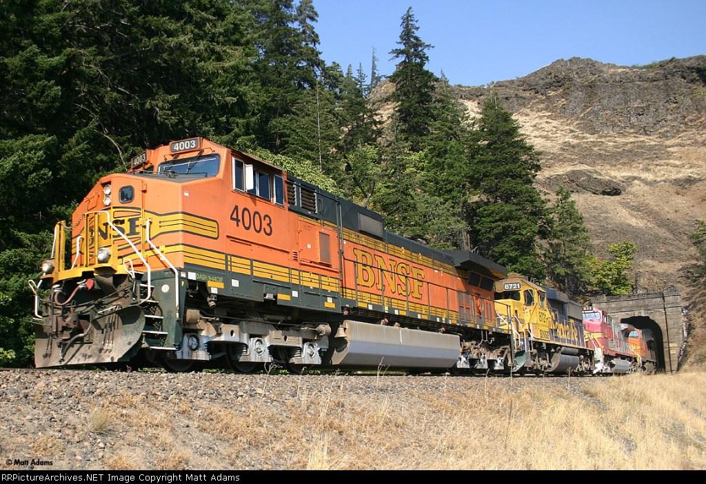 BNSF 4003 West