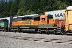 BNSF SD40-2 7302