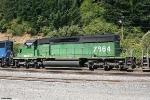 BNSF SD40-2 7864