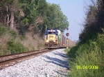 CSX 8321 Passes soon to be replaced CPL signal