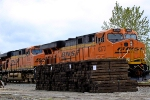 Pushers on BNSF 9793