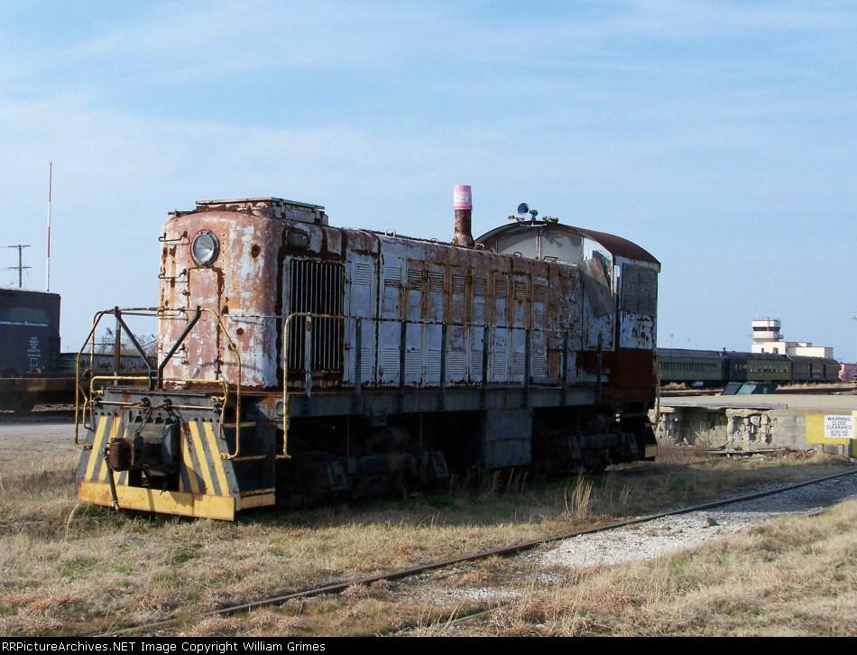 Alco S-1 awaiting restoration