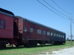 Tidewater Chapter, NRHS, 1723 is stored on the Bay Coast Railroad