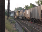 Grain train outbound from Kayne Avenue Yard