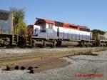 HLCX SD40-2 6208 at Bay Yard