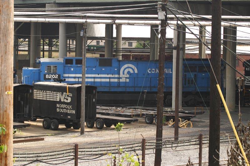 NS 8202 Awaits Repairs