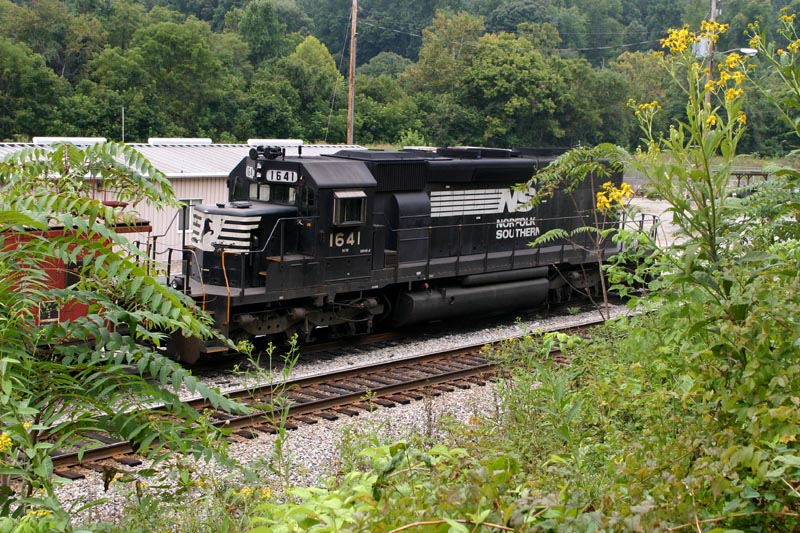 NS 1641 Sits In The Yard