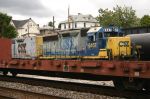 CSX 6457 Tries To Hide In The Yard