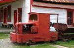 Old Coal Mine Tug Sits on Display