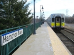 LIRR Train 2704 leaves the station