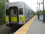 LIRR Train 2743 arriving