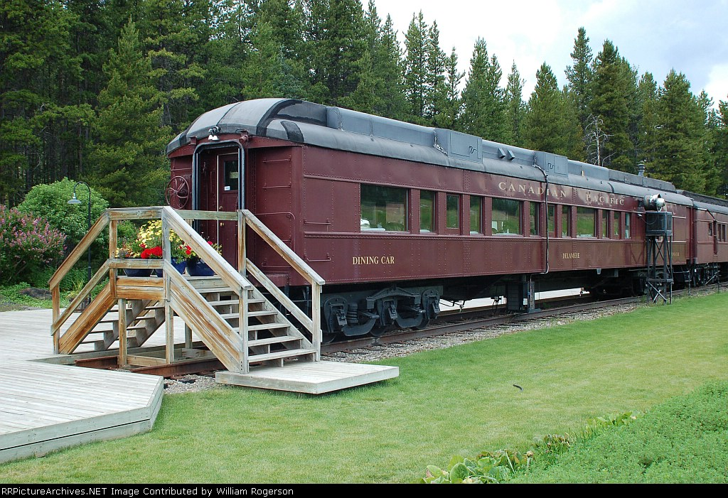 "CP Rail (Canadian Pacific Limited) 1925 Dining Car ""Delamere"""