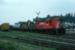 CP Rail (Canadian Pacific Limited - CP) Alco RS18 No. 8771 and RS10 No. 8591