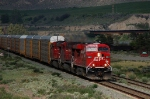 Westbound CP Rail (Canadian Pacific Limited - CP) Freight Train