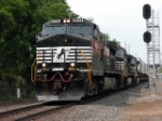 NS 9154 heads out of Chambersburg towards Hagerstown, MD