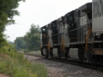 NS 9154 heads off toward Hagerstown, MD