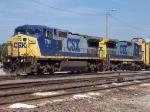 CSX 7761 & CSX 7644