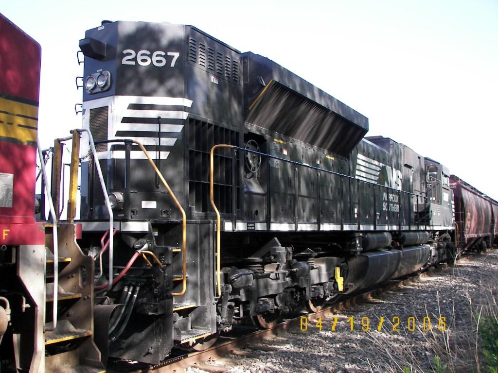 NS SD70M-2 2667
