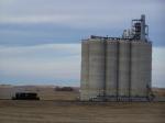 DMVW 6905 Looks Puny Next to the Grain Elevator