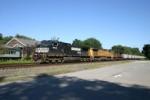 NS 9444 on a Wheatfield coal train