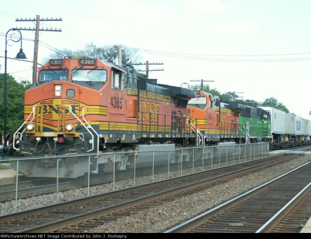 Z Train Heads West