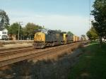 CSX 786 slowly rolls West